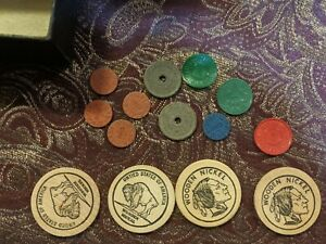 HUGE Lot VINTAGE Collectible ESTATE Smalls COINS Tokens PINS ~ Rare HTF