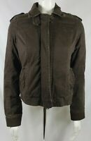 Abercrombie & Fitch Authentic vintage brown thinsulate insulated jacket womens S