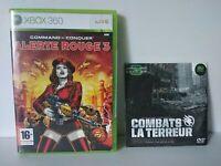 Command & Conquer Alerte Rouge 3 XBOX 360 PAL Fr Complet Très bon état + DVD