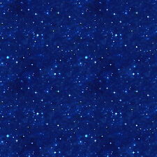 Stars in Space Across the Universe Northcott Quilt Fabric by the 1/2 yard
