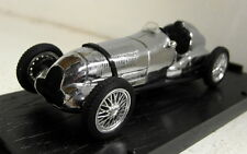 Brumm 1/43 Scale 100 Jahre 1886/1986 Chrome Mercedes W125 diecast model car