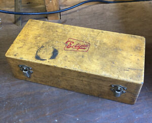 Small Vintage Eclipse Specialised Tool Box Collectors Cheney Clamps Original