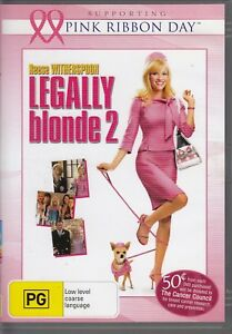 Legally Blonde 2 - Reese Witherspoon, Sally Field, Bob Newhart  - DVD REGION 4