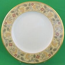 """GOLDEN PAGEANTRY by Accent Salad Plate 9.5"""" diameter NEW NEVER USED Made Japan"""