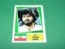 87 HASSAN NAZARI IRAN AGEDUCATIFS FOOTBALL ARGENTINA 78 WM 1978 PANINI