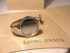 GEORG JENSEN VIVIANNA TORUN BULOW HUBE BANGLE WATCH 326 BOXED