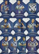 2016 NRL TRADERS CANTERBURY BULLDOGS PARALLEL TEAM SET 10 CARDS