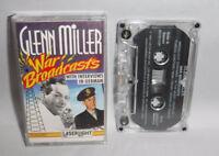 Glenn Miller War Broadcast Cassette with Interviews in German