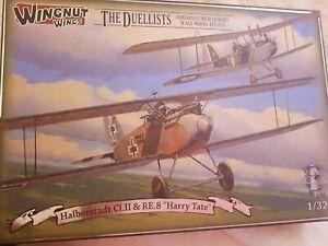 """Wingnut Wings Halberstadt Cl. II  & RE.8 """"Harry Tate"""""""
