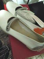 Kickers scarpa donna Ballerina bianca tg.36 Cresime e comunione Made in Italy