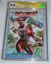 Harley Quinn 25th Special #1 CGC 9.8 ComicXposure Edition Greg Horn Signed