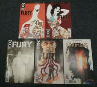 2012-2014 Fury Max Comic Lot #1,2,7,12 The Uncanny Inhumans #5