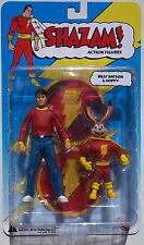 DC BILLY BATSON & HOPPY ACTION FIGURE SET. SHAZAM! FROM DC DIRECT. NEW ON CARD