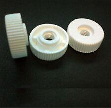10 Pacco di M4 NYLON Thumb NUTS senza collo, 16mm do