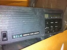 NEW Relm Desktop Base Station Radio - 25 Watt 470 - 480 - 490 Mhz 16 Ch DRU2516C