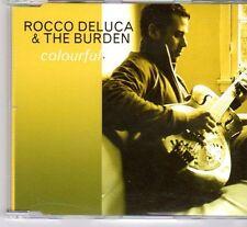 (DX732) Rocco Deluca & The Burden, Colourful - 2006 DJ CD
