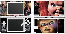 NDSi Nintendo DSi-Chuckie - 4 pièces Autocollant Vinyle Peau Autocollant /