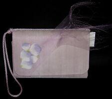 Sac à main de Créateur violet femmes cérémonie mariage made in France french bag