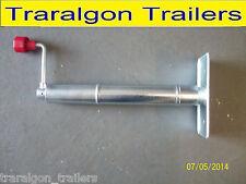 jockey stand corner steady caravan trailer camper stabilizer leg removeable E9