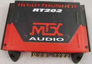 MTX ROADRUNNER TR202 AUDIO AMPLIFIER VERY GOOD WORKING & COSMETIC CONDITION