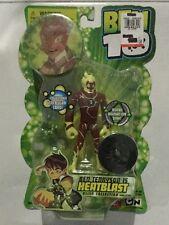 NEW Ben 10 Ten Tennyson Alien Collection Heatblast With Disk 1st Series NIB