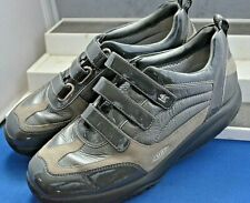 MBT -THE ANTI-SHOE SMART GREY LEATHER/SUEDE BALANCE SHOES UK 6 EU 39.5 US 9