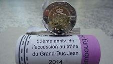 2 € luxembourg 2014 commémo accession au trone