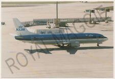 Colour print of KLM Boeing 737 42C PH-BPD at Frankfurt in 1997