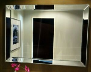 Brilliant Wall Mirror 80 x 60cm Mirror Frame From Colmore Mirror Glass Frame New