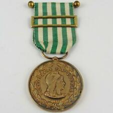 1911-1917 PORTUGAL PORTUGUESE EXEMPLARY BEHAVIOR 50 YEARS 1ST CLASS GOLD MEDAL
