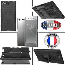Coque Protection Noir Rigide Renforcé Anti-Choc pour Sony Xperia XZ Premium