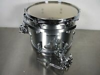 "Taye Rock Pro Limited Edition Rack Tom - 12 X 9"" - Chrome - Comes With Tom Arm"