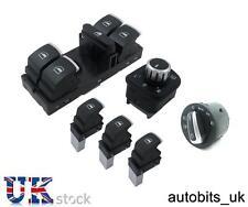Lot de Chrome Fenêtre Miroir Headlight Switch Control VW Passat Golf Jetta Neuf