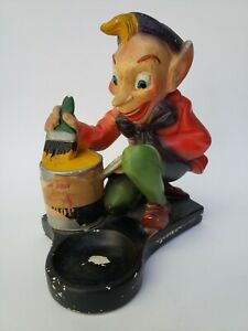 The Bishop Conklin Company Vintage Elf Paint Figural Store Display Advertisement