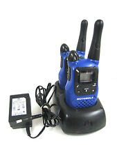 Motorola Talkabout Two-Way Radio K7GMCBBJ w/ LD014107 CH610E Charger KEM-ML36100