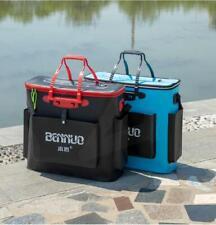 33L 42L 50L Large Capacity Folding Fishing Bucket Fish Barrels Setup Outdoor UK