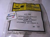 Sylvania ECG848 IC Vertical Countdown NTE848 15-45693-1 NOS Qty 1