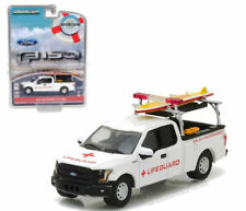 GREENLIGHT 1/64 2016 FORD F-150 RESCUE VEHICLE WITH LIFEGUARD ACCESSORIES 29899