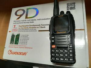 Wouxun KG-UV9D VHF UHF Multiband Funkgerät mit Zubehör