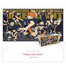 1000Piece Jigsaw Puzzle Anime Haikyu Let`s Jump Hobby DIY