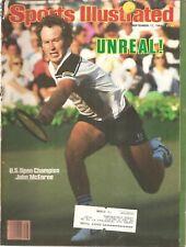 SPORTS ILLUSTRATED~SEPT 17, 1984-JOHN McENROE UP OPEN CHAMPION-COMPLETE MAGAZINE