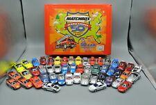 Hot Wheels Majorette Maisto Porsche Lot of 49 Loose Diecast Car W/ Matchbox Case