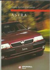 Vauxhall ASTRA flotta gamma confronto dei costi opuscolo gennaio 1995