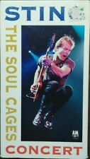 The Soul Cages Concert by Sting (VHS 1991 A&M) Live~The Police