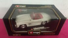"BURAGO DIAMONDS SC.1:18 MERCEDES BENZ 300SL ""ROADSTER"" (1957) RIF.3023"