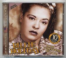 BILLIE HOLIDAY High Priestess of Jazz - 10 original tracks CD comp. - come nuovo