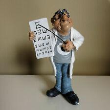 Optometrist Figurine 9.5 in. Warren Stratford Collectible Eye Specialist Doctor