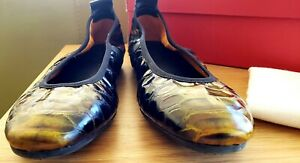 Arche LAMOUR Leather Ballet flats 38 7 Like New! RRP $300 Made in France