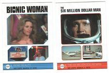 THE COMPLETE BIONIC COLLECTION 163-CARD SET SIX MILLION DOLLAR MAN/ BIONIC WOMAN
