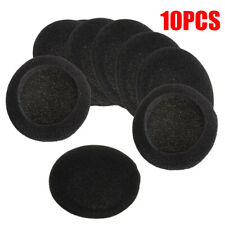 10x 50mm Replace Soft Foam Ear Pad Sponge Cushion Headphone Headset Covers Caps